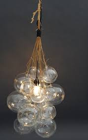 diy light bulb chandelier photo 1
