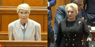 """VIDEO Raluca Turcan, discurs care i-a zguduit broșa Vioricăi: """"Dvs. și anturajul ați ajuns în situația dezonorantă de a fi o echipă de uzurpatori!""""   Podul"""