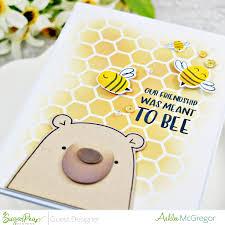 Guest Designer ~ Ashlee McGregor   SugarPea Designs Clear Stamps
