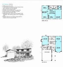 california split level house plans best of side split house plans with garage elegant california split