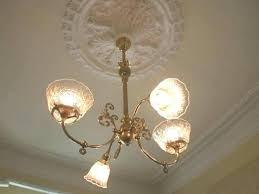 ceiling medallion installation