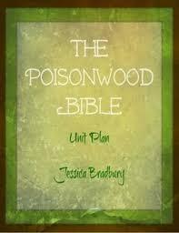 best the poisonwood bible images bible biblia  the poisonwood bible unit plan bundle