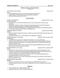 It Intern Resume Modern College Student Resume Internship Template Examples Example 26