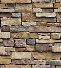Modern Faux Brick Stone Wallpaper Stone ...
