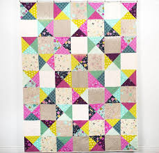 123 best Cotton and Steel Quilts images on Pinterest | Cotton ... & Cotton + Steel Mochi Simple Patch Quilt Adamdwight.com