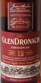 Glendronach Age Chart Glendronach 12 Year Old Original Ratings And Reviews