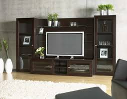 remarkable glass wall units entertainment centers floating tv