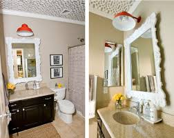 inexpensive bathroom lighting. A Bathroom Makeover That Really Shines Inexpensive Lighting H