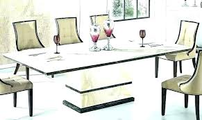 round marble dining table white top set india mar