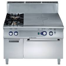 Gas Kitchen Ranges E9stgl3031 Solid Top Gas Oven Range With 2 Burners