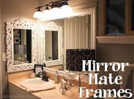 frame bathroom mirror easy. mirrormate mirror frames. easy makeover for your bathroom mirrors. frame