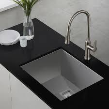 Black Undermount Kitchen Sinks Stainless Steel Kitchen Sinks Kraususacom
