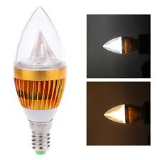 whole e14 6w led candle light bulb chandelier lamp spotlight high power ac85 265v