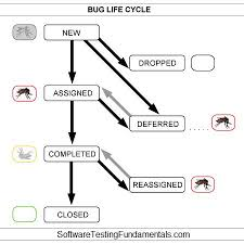 Defect Management Process Flow Chart Defect Life Cycle Software Testing Fundamentals