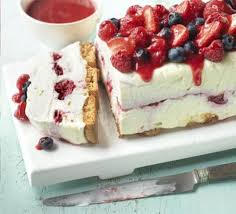 Scrape the mixture onto a sheet of waxed paper and fold over to seal. Summer Family Desserts Recipes Bbc Good Food