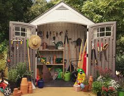 sheds outdoor storage