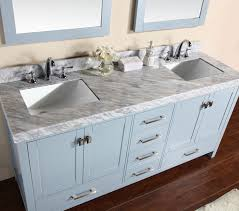 modern bathroom undermount sinks. Modern Bathroom Vanity With White Marble Top And Undermount Sinks. View Detailed Images (4) Sinks D