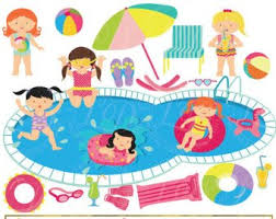 pool splash clipart. Simple Splash Girls Pool Party Clipart Clip Art Summer Party Swimming  Girls Splash Summer Swimming CommercialPersonal Use With Splash Clipart