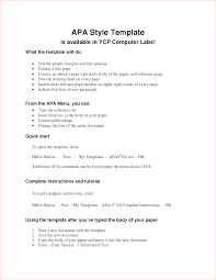 Outline For Paper Template Apa Format For An Outline Ohye Mcpgroup Co