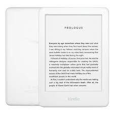 Combo Máy Đọc Sách All New Kindle 2019 (10th) (4GB - Màu Trắng) và Bao da  Đen trơn - Hàng nhập khẩu - Máy đọc sách