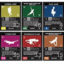 exercise cards strength stack 52 bodyweight