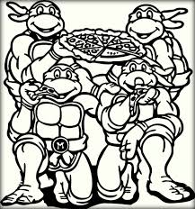 Small Picture Top 10 Ninja Turtles Coloring Pages for Kids Color Zini