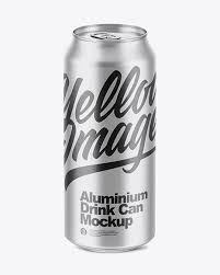 Download a free preview or high quality adobe illustrator ai, eps, pdf and high resolution jpeg versions. 500ml Matte Aluminium Can Mockup In Can Mockups On Yellow Images Object Mockups