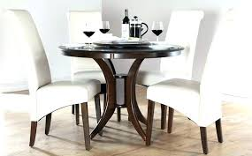 dark wood dining table set round nice decoration shabby chic chairs and bench
