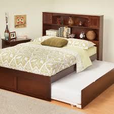 Urban Lifestyle Newport Bookcase Platform Bed | Hayneedle