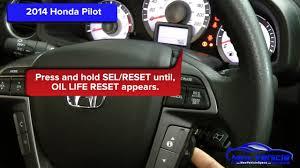 2011 Honda Odyssey Tpms Light Reset Reset Engine Oil Life Light On 2010 2015 Honda Cr Z