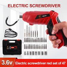 Điện Bộ Tua Vít Không Dây Máy Khoan Điện Bộ Tua Vít Đường Kính Vít Tối Đa  Chất Liệu ABS Di Động Công Cụ Sửa Chữa|Electric Screwdrivers