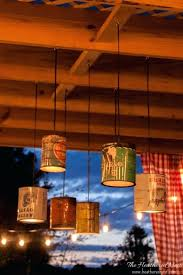 tin can chandelier outdoor or indoor tin can chandelier pendant light tutorial mexican tin star chandelier
