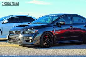 subaru wrx 2015 black. 4 2015 wrx subaru stock enkei rpf1 matte black nearly flush