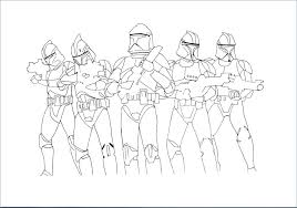 Star Wars Clone Trooper Coloring Pages Star Wars Clone Trooper
