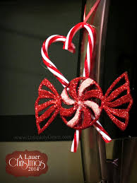 Plastic Candy Cane Decorations Uniquely Grace A Lauer Christmas Home Tour Cardinals Candy 61