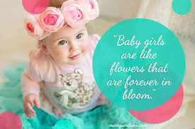 Baby Girl Quotes Magnificent 48 Best Baby Quotes You Can Dedicate To Your Little One