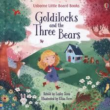 Goldilocks and the Three Bears Lesley Sims | Hewson Books