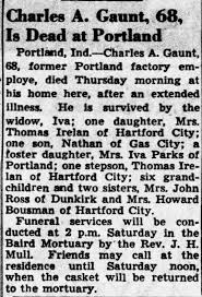 Obituary for Charles A. Gaunt (Aged 68) - Newspapers.com
