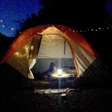 Camping Christmas Lights Camping Tip Solar Christmas Lights Silent Inexpensive And