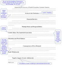 Apa Paper Heading Chapter 5 How Do I Structure And Format My Paper Professional