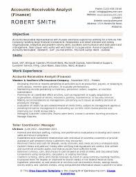 Accounts Receivable Analyst Resume Samples QwikResume Amazing Accounts Receivable Resume