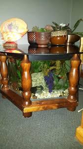 fish tank coffee table plans diy