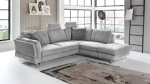 Ecksofa Sunshine Wohnlandschaft Sofa Polstermöbel In Grau