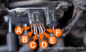 part how to test the gm l ignition coil pack 6 wire ignition module connector circuit descriptions