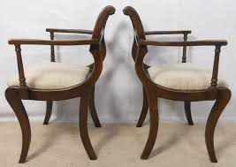 black wood dining chair. Set Of Six Dark Wood Regency Style Dining Chairs Ikea Black Chair E
