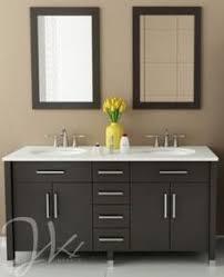 modern sink vanity. Wonderful Sink Double Sink Bathroom Vanity  Intense Colors And Razorsharp Lines Make The  JWH Living Rana 59 In Cuttingedge Focal Piece Youu0027ve Been  To Modern F