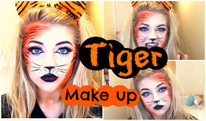 tiger makeup tutorial