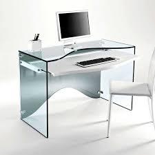 contemporary office desk glass. fine desk strata transparent glass desk throughout contemporary office desk glass