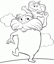 Small Picture Free Printable Lorax Coloring Pages For Kids
