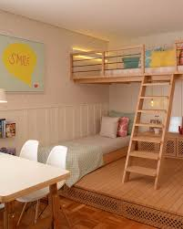Little Girls Bedroom Suites This Cute Girls Bedroom Was Designed With A Lofted Playspace